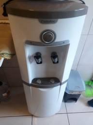 Bebedouro de Água de Coluna Esmaltec Gelagua EGC35B com Compressor Branco<br><br>