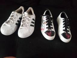 Título do anúncio: Vendo dois sapatos infantis ..preço  ótimo