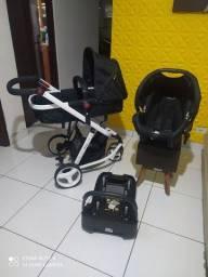 Carrinho de bebê Safety Mobi Completo