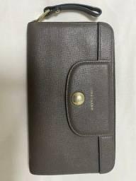 Carteira couro original Longchamp
