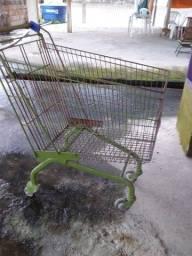 Carro de supermercados  50 reais