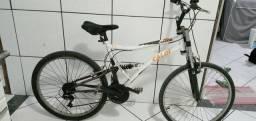 Bicicleta usada Caloi XRT aro 26 com 02 amortecedores ACEITO CARTÃO DE CRÉDITO