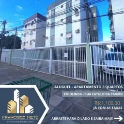 Para alugar 3 quartos,  no melhor local de Jardim Atlântico, Olinda