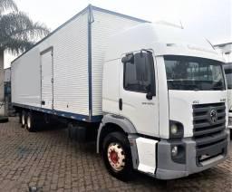 Título do anúncio: Vw 24250 Truck Teto Alto Baú 10,50 M 2010 / 2010