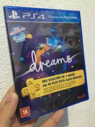 Dreams de ps4 com 3 meses de ps plus
