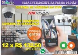 Título do anúncio: Casa Inteligente Câmeras de Segurança Sistema completo
