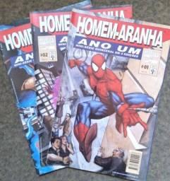 Homem Aranha, ano um -mini série em 3 edições completa