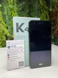 LG K4 Lite Preto 8GB Seminovo - Nota Fiscal + Garantia, homologado pela Anatel.