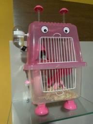 Gaiola para hamster (ou roedores) 2 andares