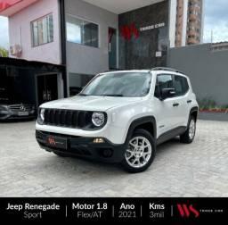 Jeep Renegade Sport 1.8 2021 Flex 4x2