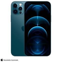 iPhone 12 Pro Max Apple 128GB Azul-Pacífico - NOVO