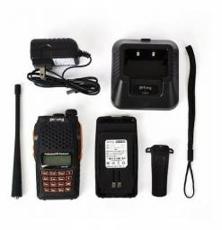 Radio Ht Dual Band(uhf+vhf) Baofeng Uv-6r + Fone<br><br>