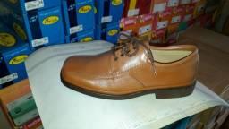 Sapato decoflex couro