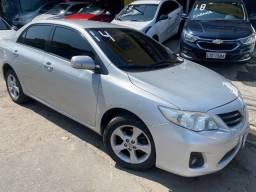 Título do anúncio: Toyota Corolla Xei 2014 Aut + GNV!!!!
