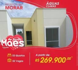 Casa para financiar próx a Av das Torres - 3 quartos - Aceita FGTS como entrada