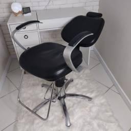Cadeira Haisan Hidráulica Reclinável