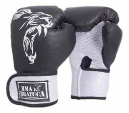 Luva De Boxe Muay Thay NOVA MMA BRAZUCA 12OZ