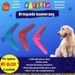 Brinquedo boomerang pet