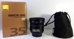 Lente Nikon 35mm f/1.8G