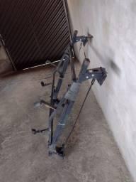 Rack com suporte de escada