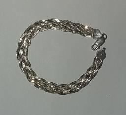 Pulseira de prata 925, 5 fios