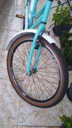 Bicicleta Unissex Retrô Aro 26