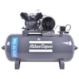 Compressor 100L 10pes (Semi novo na garantia) + Pistola profissional