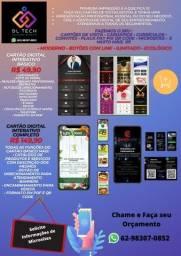 Título do anúncio: Cartão de Visitas Digital Interativo