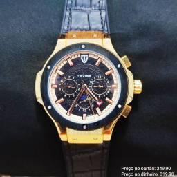 Relógio Masculino Automático Original Tevise Topíssimo ( Atendimento via WhatsApp)