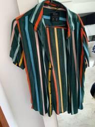 Camisa M/P Bluesteel