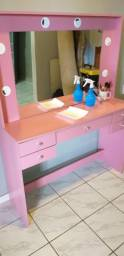 Camarim pink pega 6lampadas estado nova