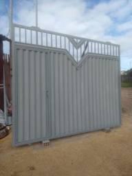 Esquadria serralheria metalúrgica grade portão porta de rolo