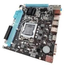Placa Mãe H61 Para Intel Lga1155/ 2ª e 3ª Ger 2x Ddr3 6 Usb 2.0 Vga/hdmi