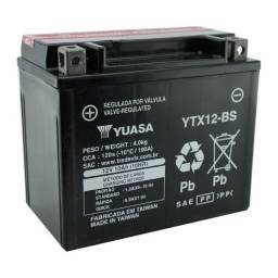 Bateria Yuasa YTX12-BS Citycom 300, TDM 850, Hayabusa 1300, GSX1100 Bandit 1200 Versys 650