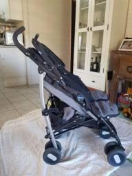 Carrinho de bebe guarda chuva  -Chicco Echo Twin / Pouco Usado