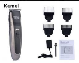 Maquina De Acabamento Corte De Cabelo E Barba Kemei Km Pg104