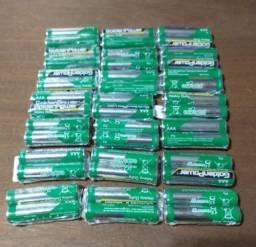 pilha AAA 4 reais duas pilhas