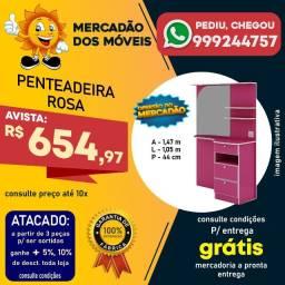 Penteadeira Infantil Rosa Super Barata!!!