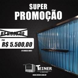 Promoção - Container desmontável