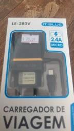 Carregador Super Rápido V8 Micro USB (Produto Novo!)