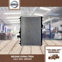 Radiador Nissan Livina/Tiida 2009/2014