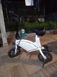 Bicicleta Eletrica Ebike Life 1.0 Bat 6.6Ah Ate 20km branca