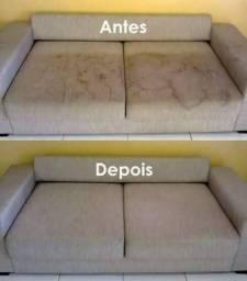 WF Limpeza Lavagem a seco sofá