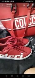 Tênis Colcci original n.34 calça 35 aceito cartão