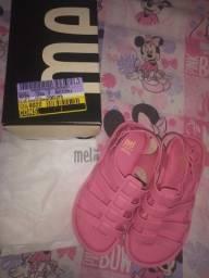 Melissa Mel Flox preta e rosa e Possession cristal
