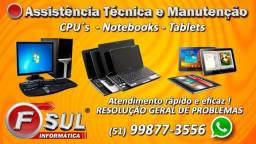 Assistência Técnica Especializada em Informática e Eletrônica