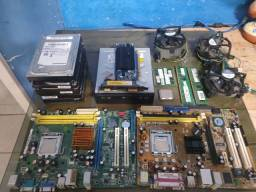 Lote peças de computador ( Troco por placa de video)