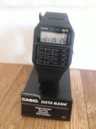Relógio Casio Data Bank WR