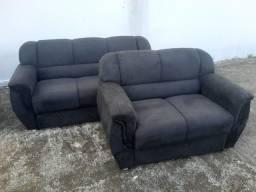 sofa com 2 e 3 lugares