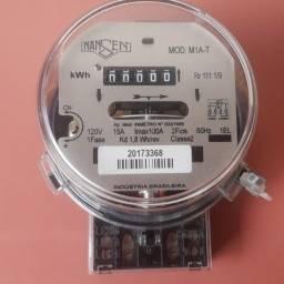 Medidor de Energia KWH Monofásico 120V 2 fios